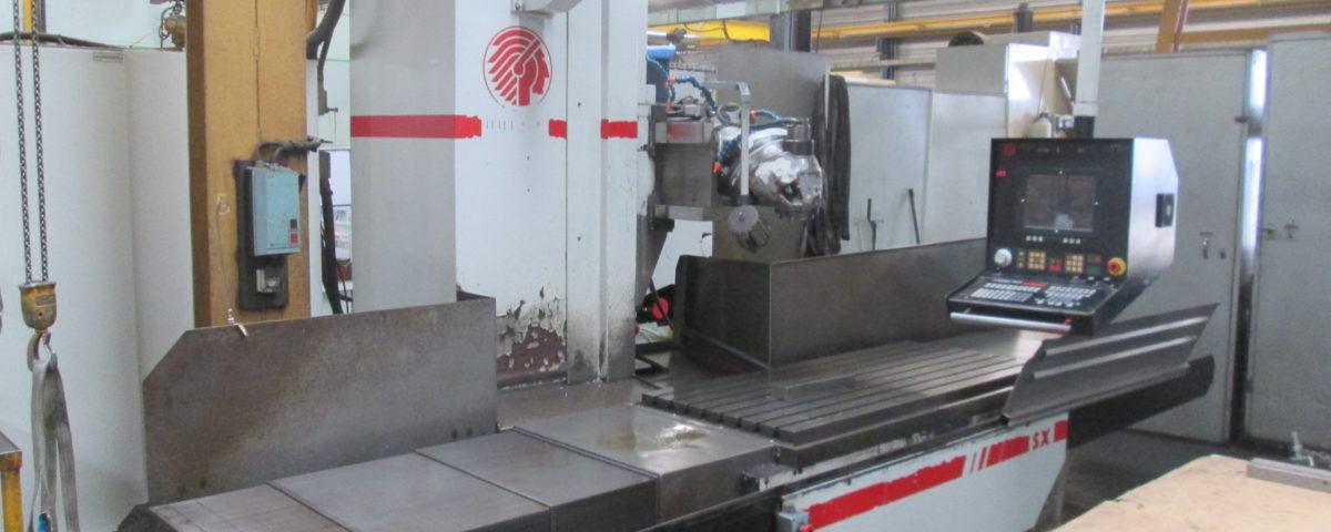 machine outil Fraiseuse cnc universelle HURON SXB