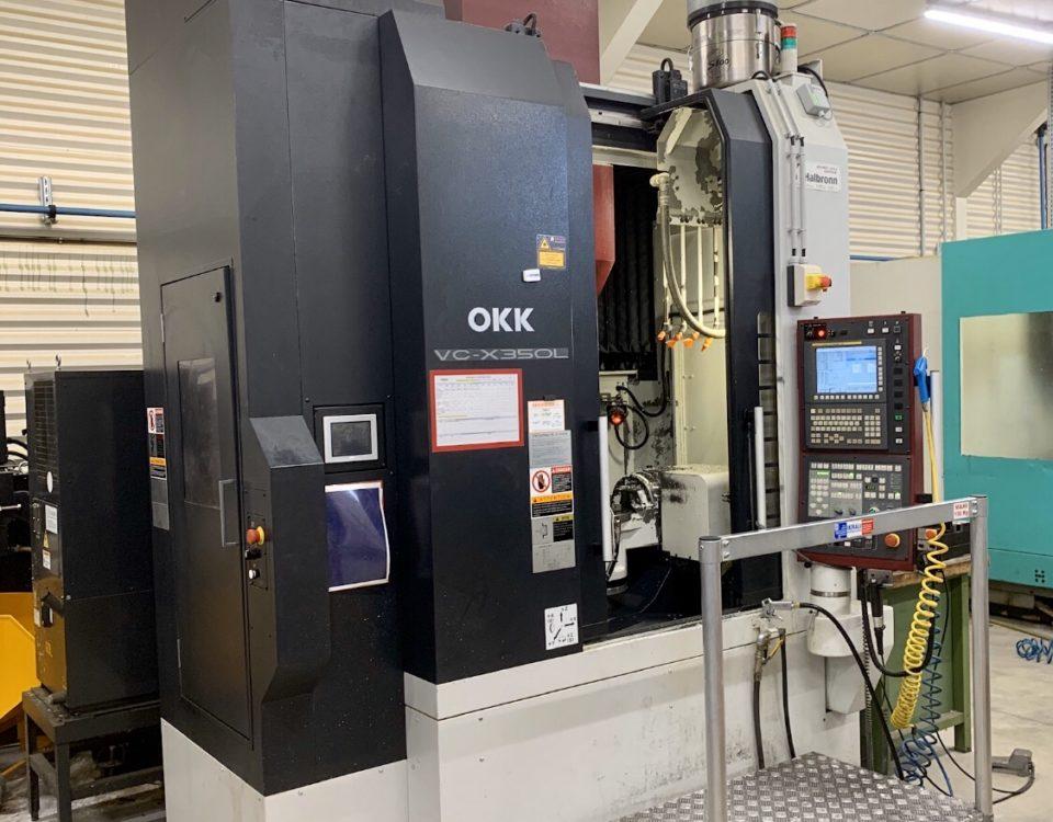 OKK VCX350L 5 axes